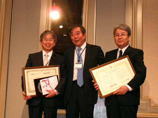 Honorary award for Dr. Takamori